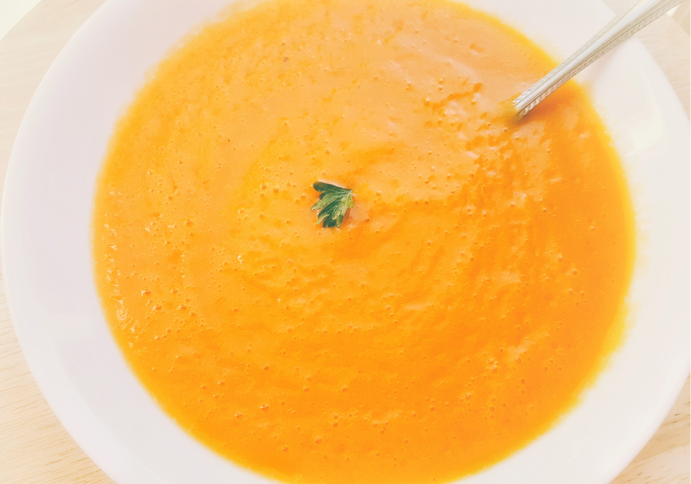 vegan butternut squash soup recipe oil free