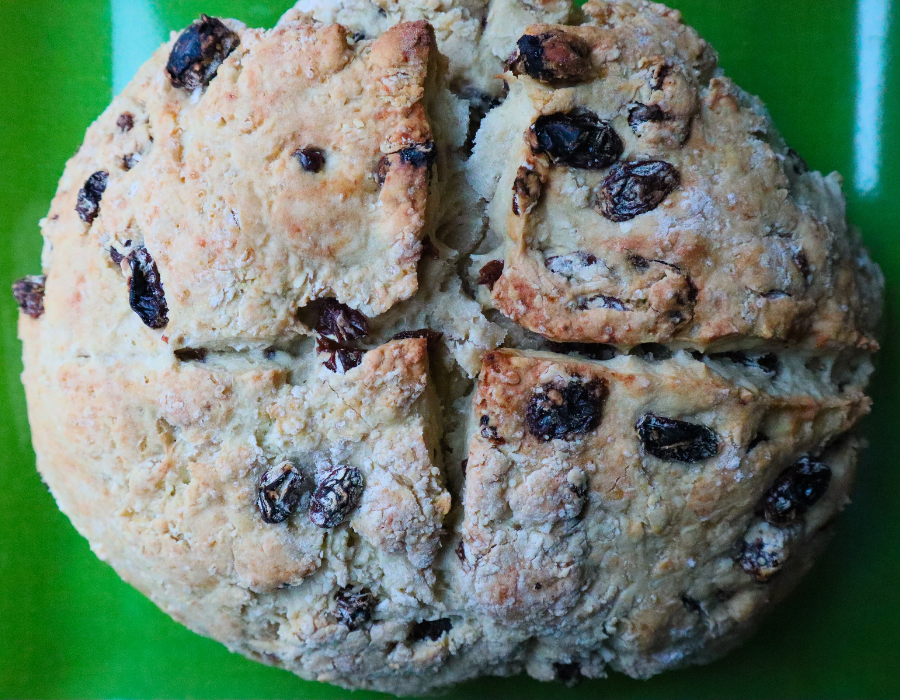 Vegan Irish Soda Bread, Low-fat, Oil-Free
