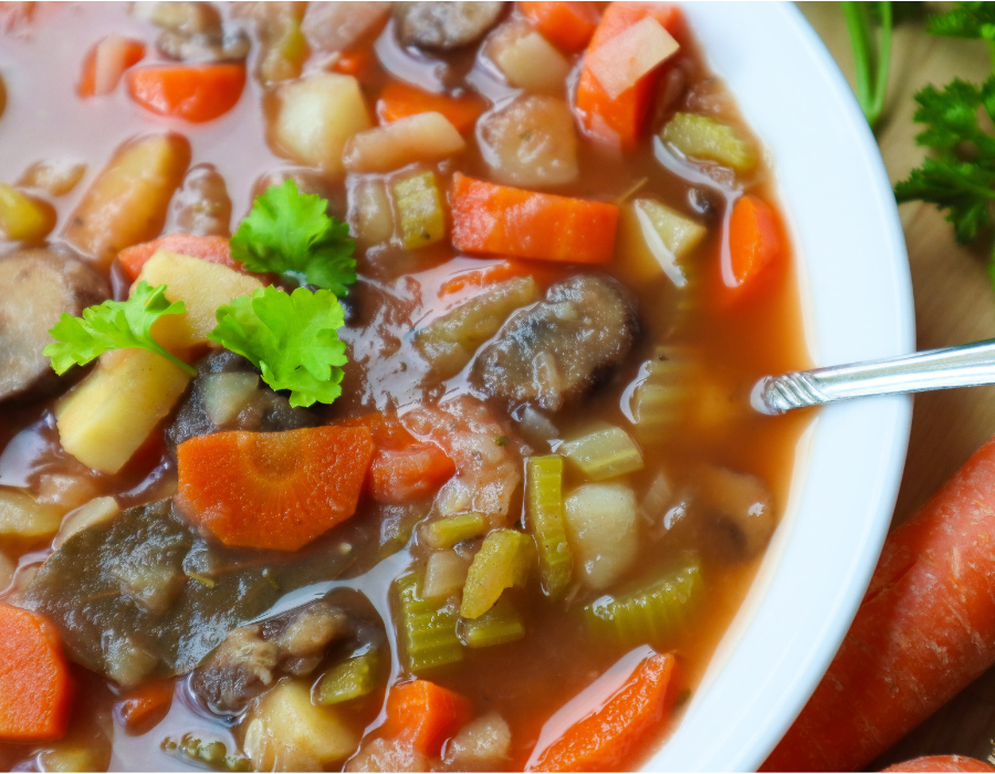 Vegan Irish Stew - SOS Free Recipe