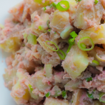 Pink Vegan Potato Salad: SOS-Free